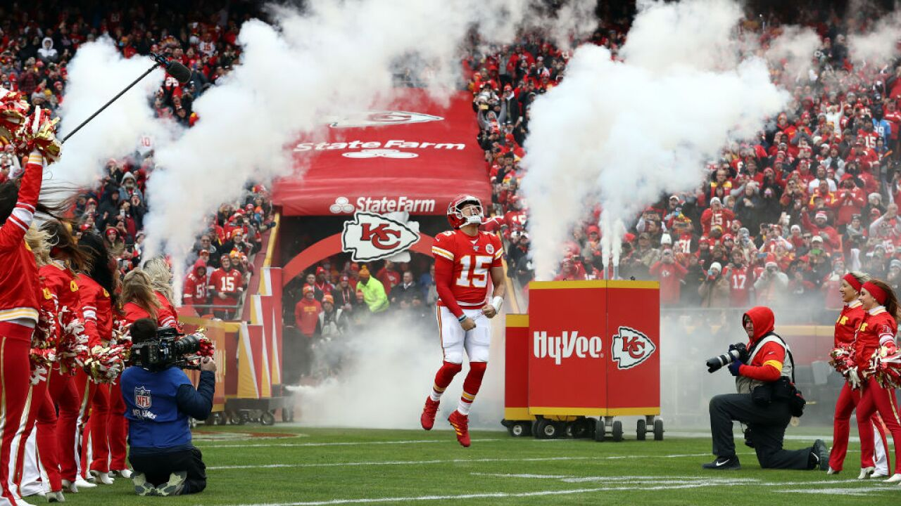 Los Angeles Chargers vKansas City Chiefs