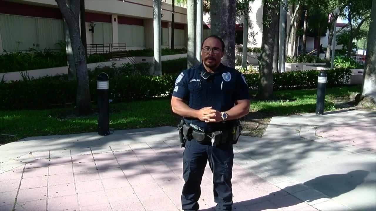 West Palm Beach police traffic homicide investigator Daniel Dillard