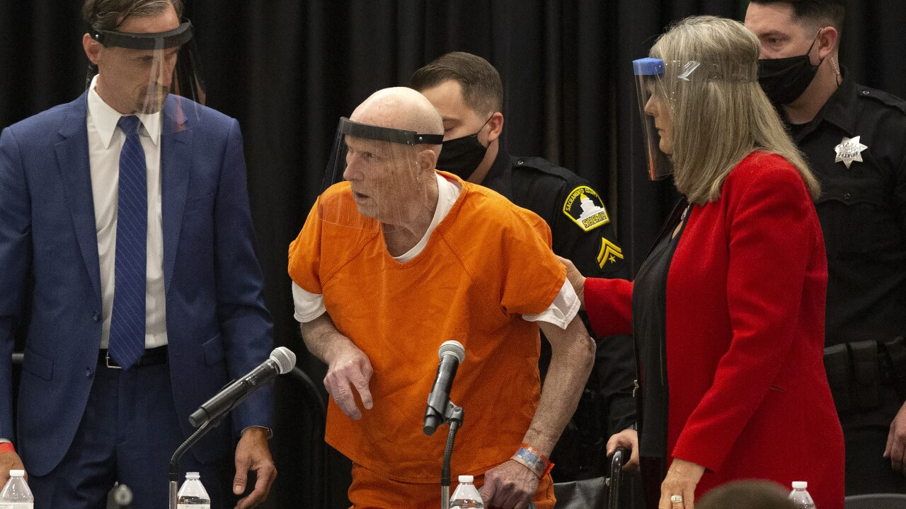 Man pleading guilty to 'Golden State Killer' murders, crimes