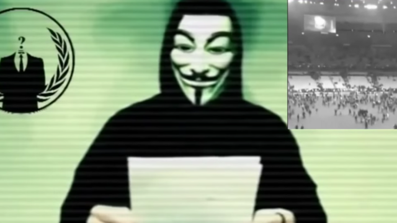 'Anonymous' blamed for wave of cyberattacks on Friday