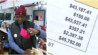 Small business owner gets $48,000 water bill: 'Somebody dropped theball'