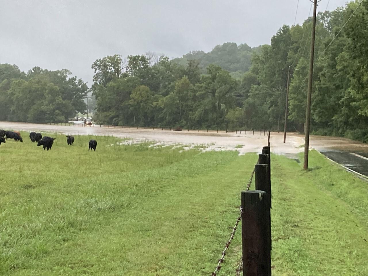 dickson county flooding - 8/21/21