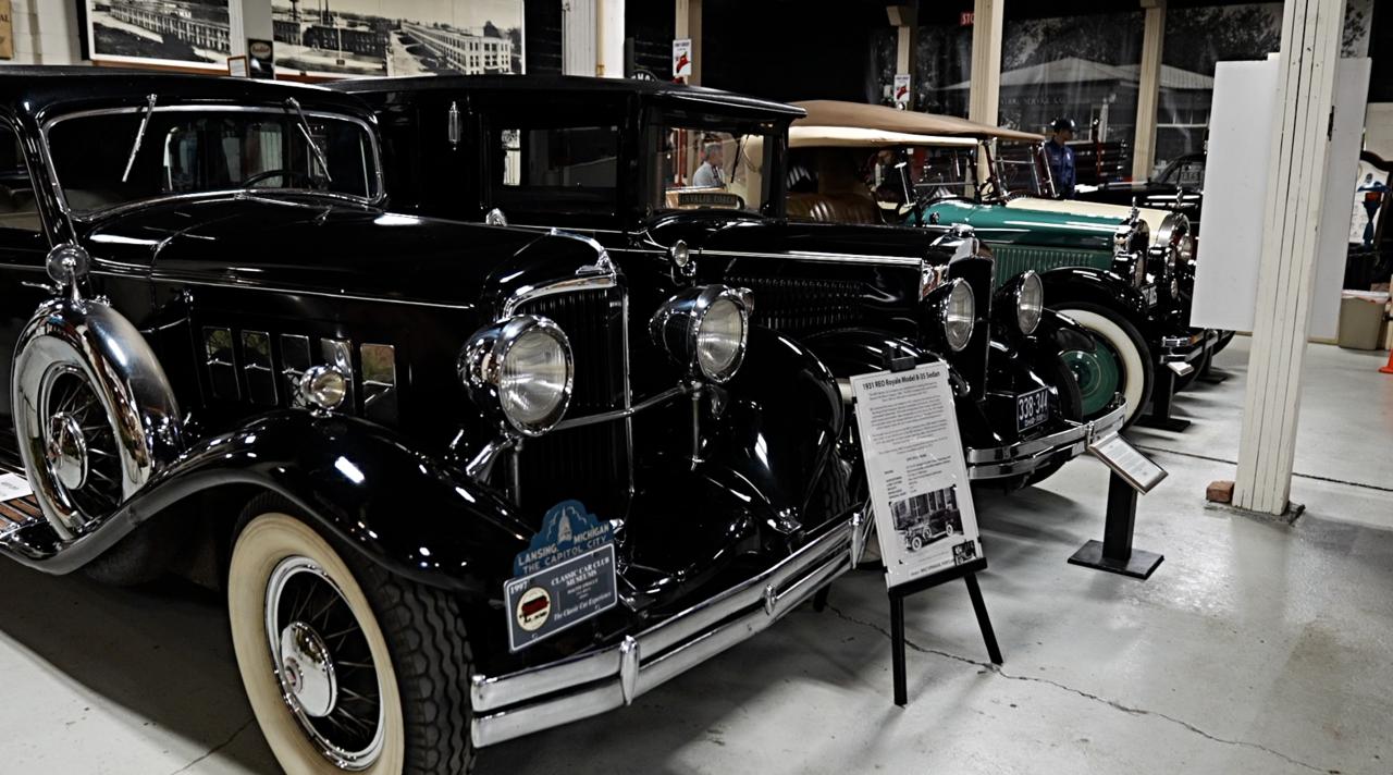 R.E Olds Transportation Museum