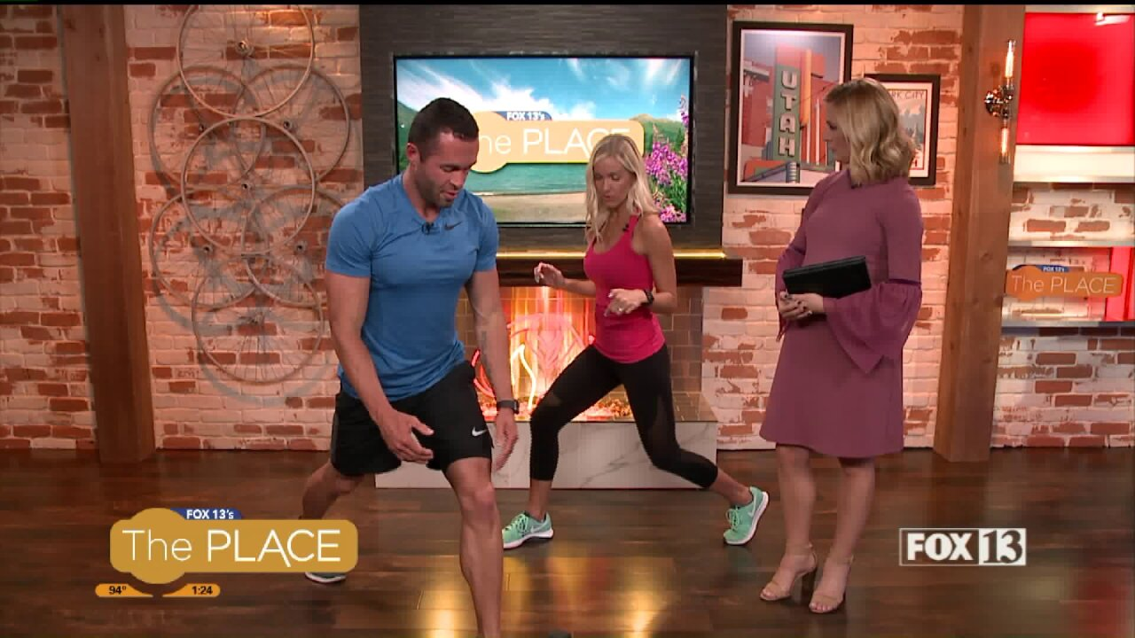 Kami and Zac Price take us through a 3-minute full body workout