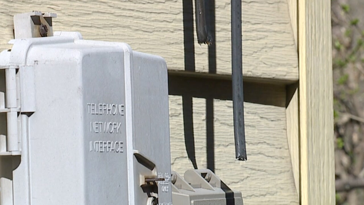 Newburgh Heights resident cable line cut, neighbor denies damage, initially stops repairs
