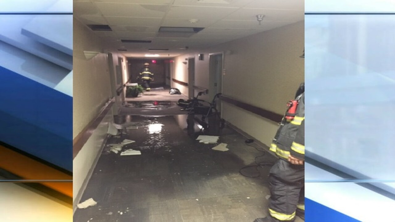 PHOTOS: Assisted living facility damaged by...