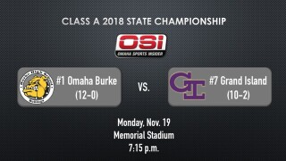 Class A Football State Championship: Omaha Burke vs. Grand Island live updates