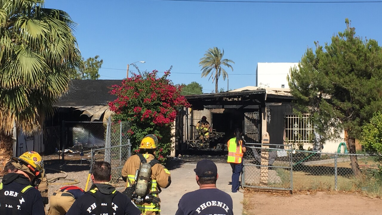 Deadly house fire central phoenix 2