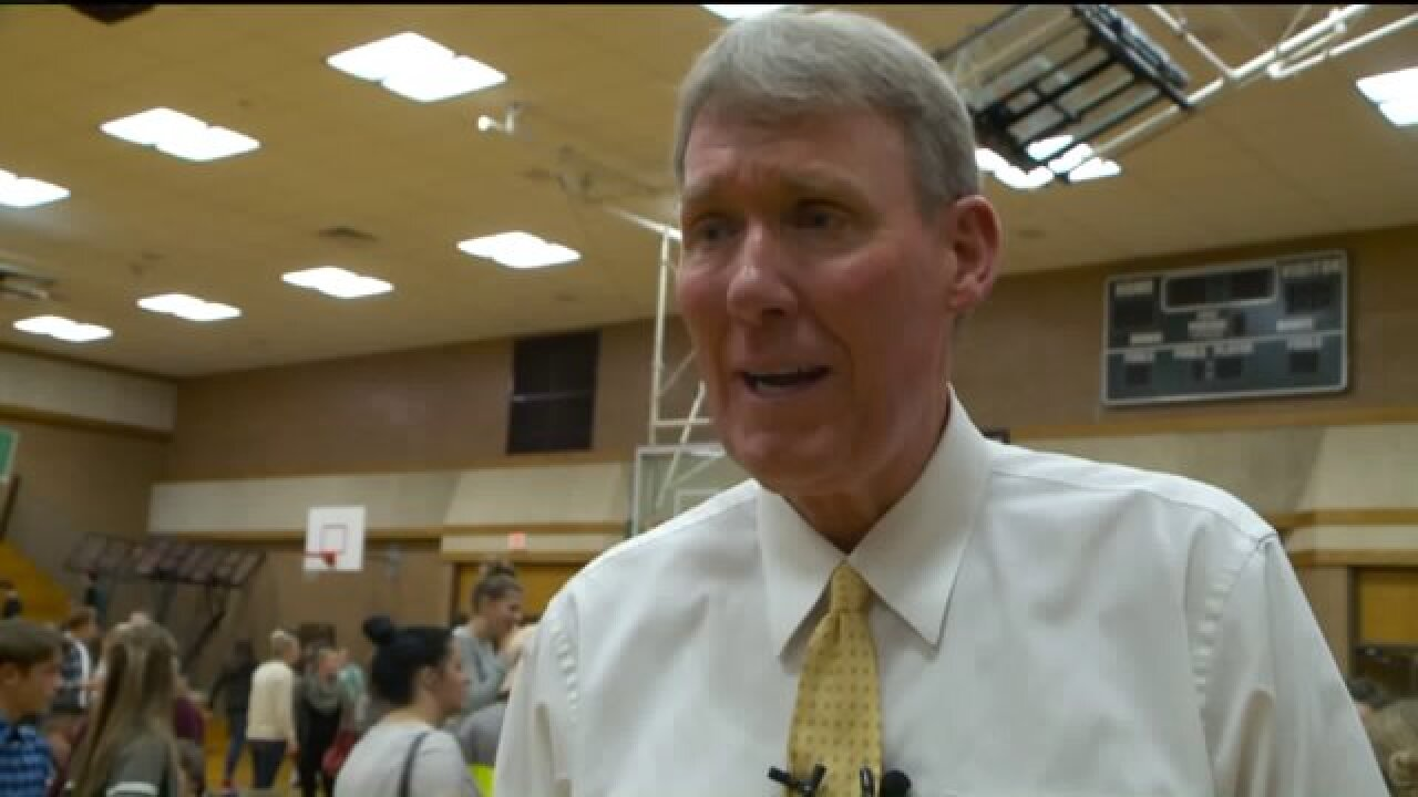 Beloved Farmington JH basketball coach honored