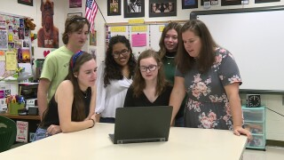 Clover Hill students' movie about female empowerment earns nationalhonor