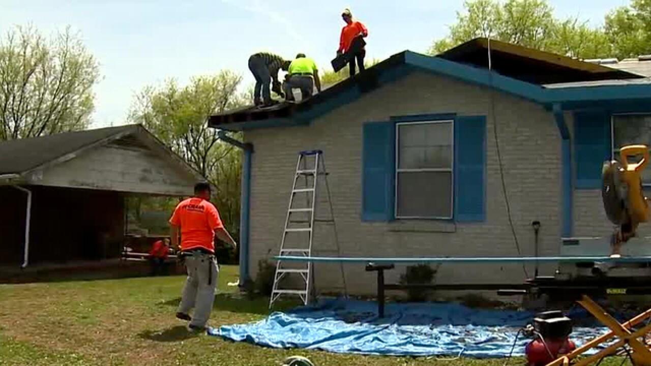 Volunteers Come Together To Fix Senior's Nashville Home