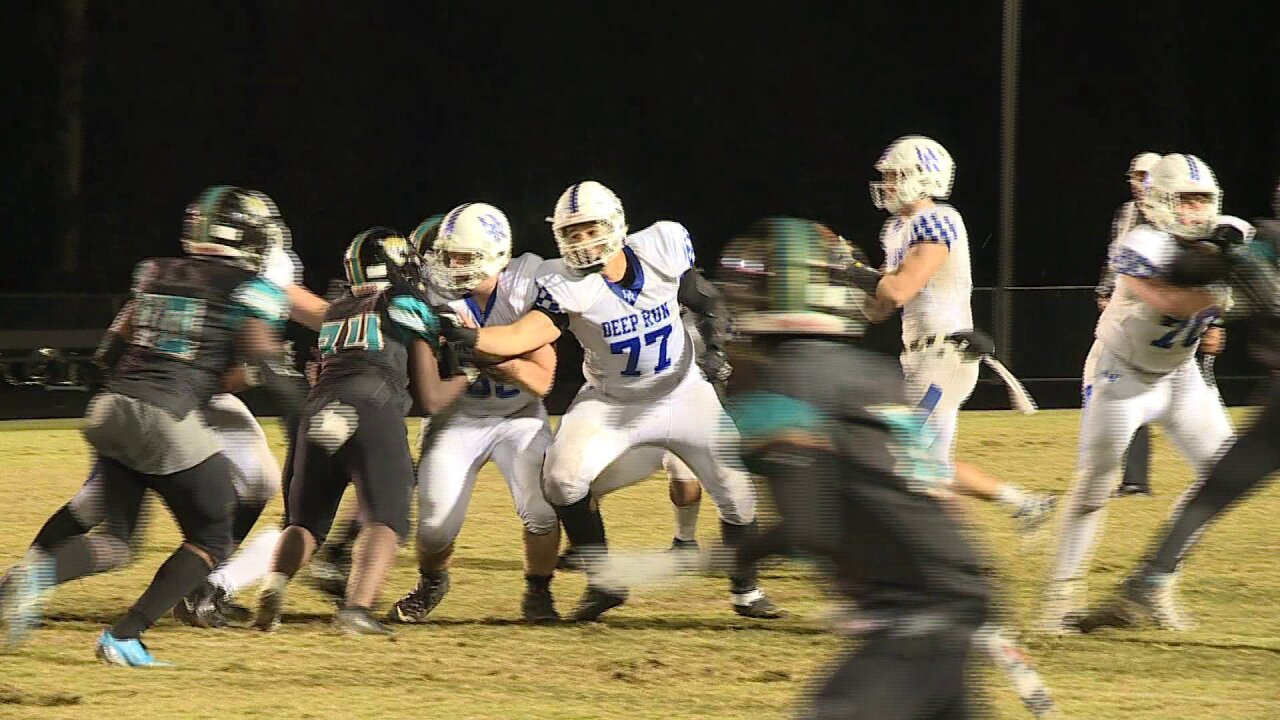 Deep Run stays unbeaten with 47-7 romp over Glen Allen