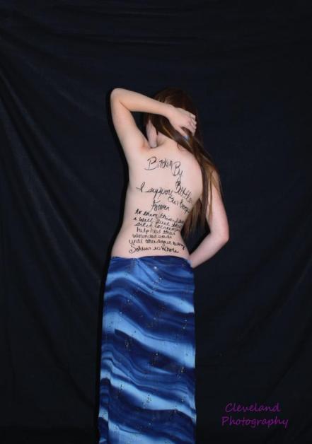Photos: Photos: Military wives go topless to fightPTSD