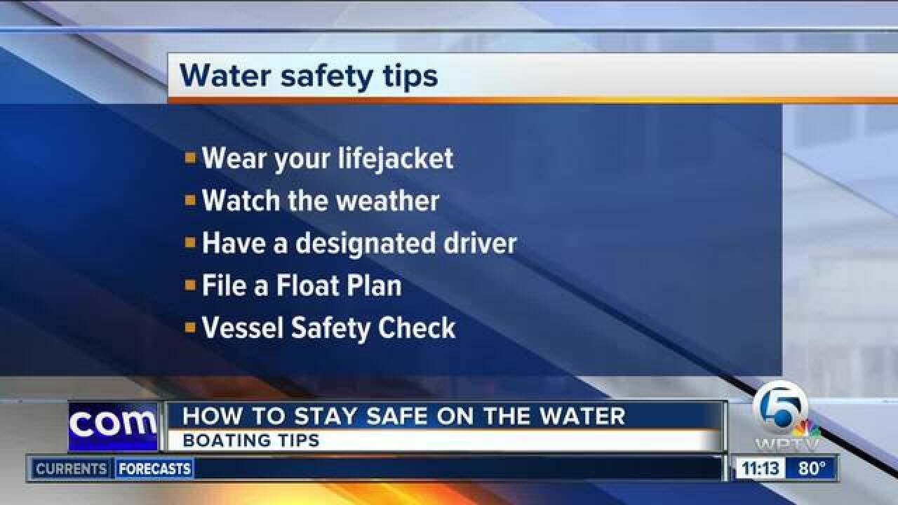 Boating tips to stay safe Memorial Day weekend