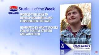 Student of the Week: Shane Calbick
