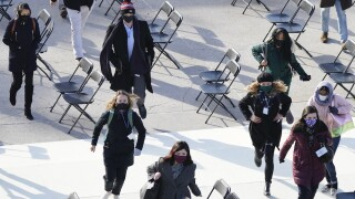 Biden Inauguration rehearsal evacuaiton