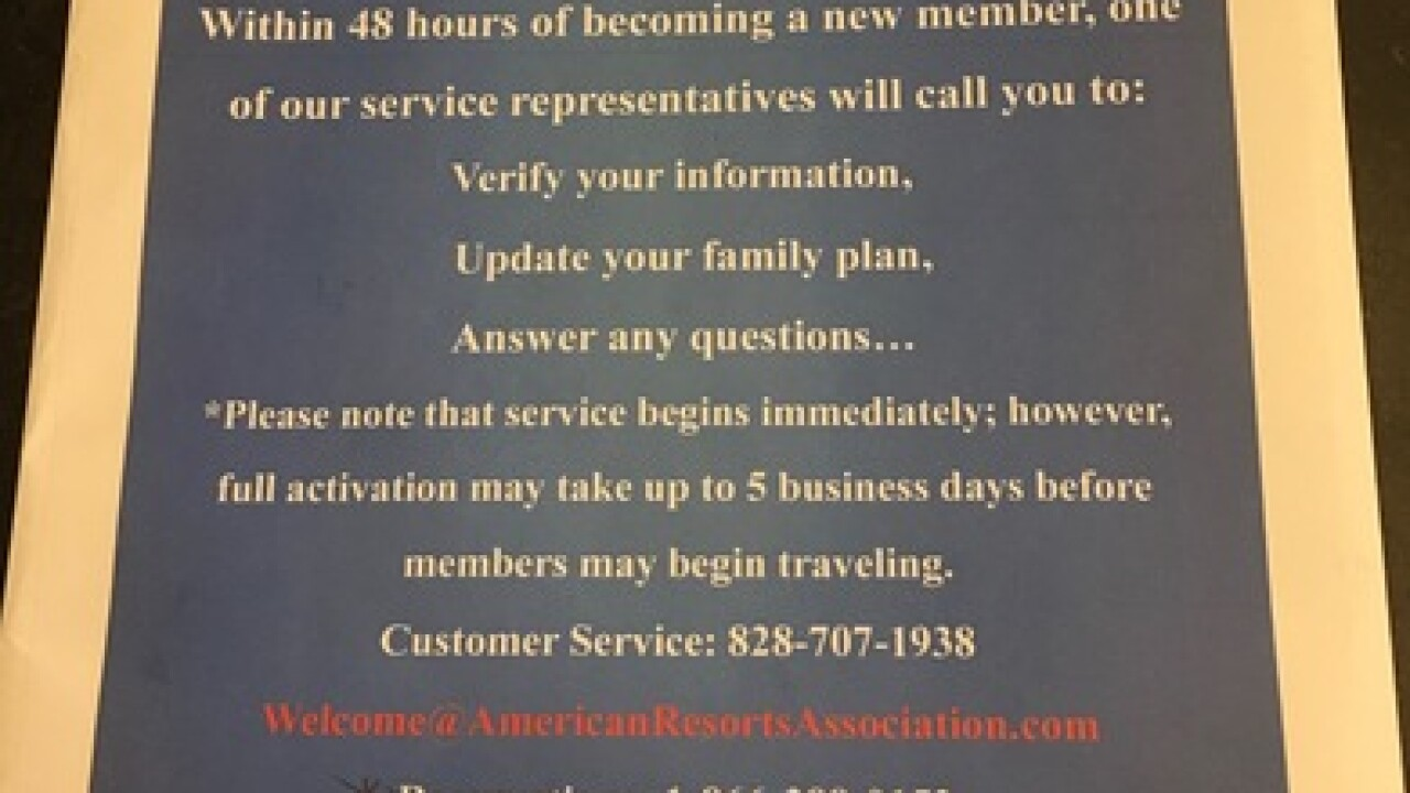 Mailer raises questions about business