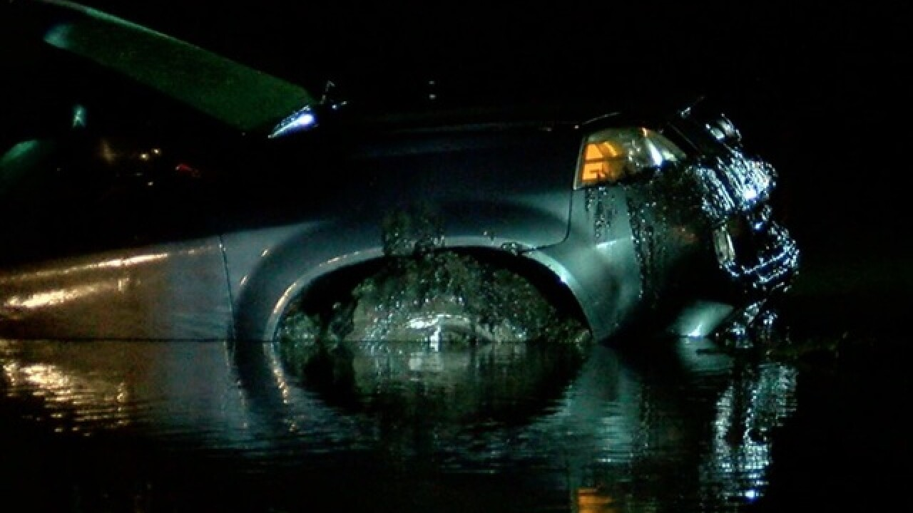 NKY man found dead after crashing into pond