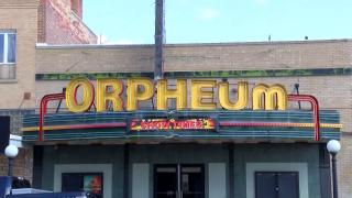 The Orpheum Theatre in Conrad