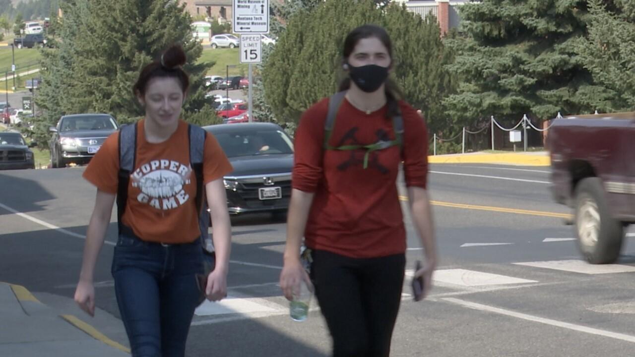 Montana Tech masks