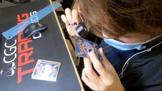 Grading a Pokemon card