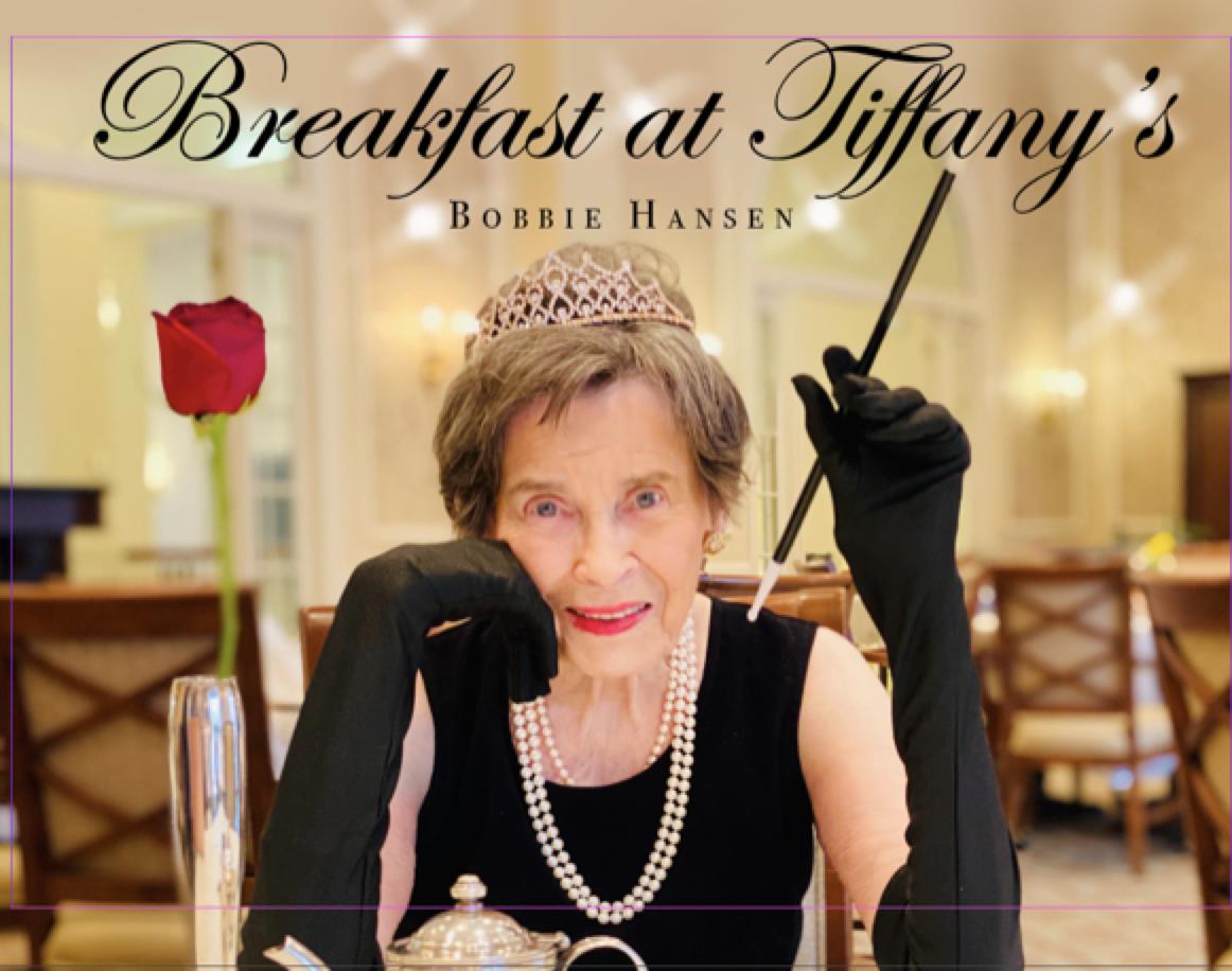 Bobbie Hansen as Audrey Hepburn in Breakfast at Tiffany's