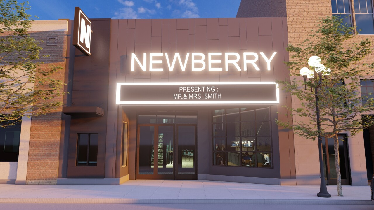 Artist rendering of The Newberry