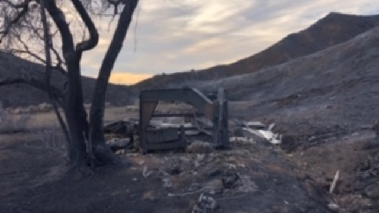 KC natives lose everything in CA wildfires