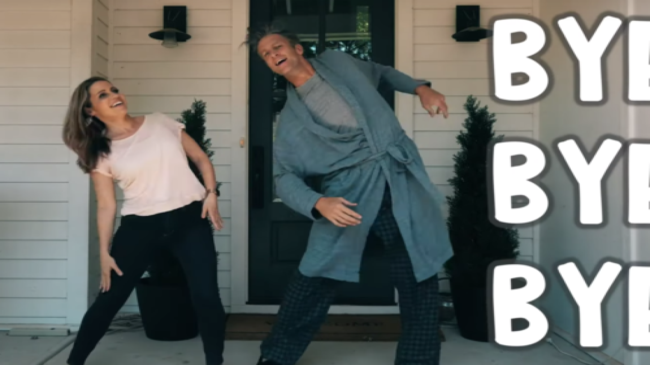 This Family's Hilarious Parody Video Of 'Bye Bye Bye' Celebrates The Kids Going Back To School
