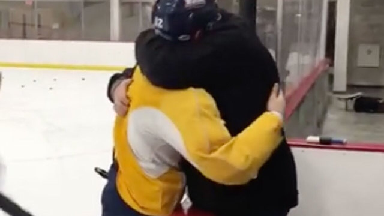 VIDEO: Bobby Butler tells his dad he made the U.S. Olympic Men's Hockey Team