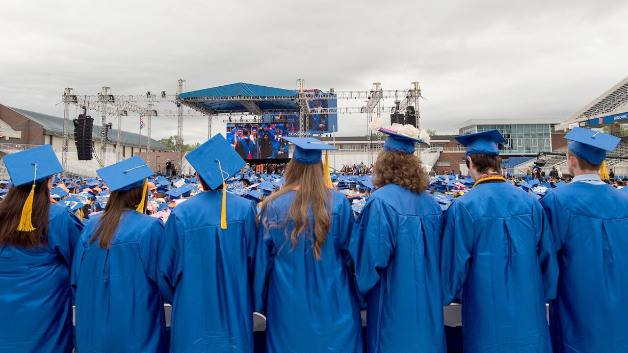 Boise State commencement ceremony
