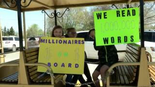 Future bibliophiles: 11 Rossiter students celebrate reading 1 million words each