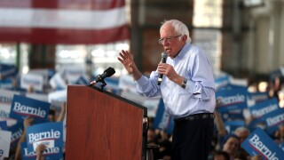 Presidential Candidate Bernie Sanders Holds Campaign Rally In Richmond, CA