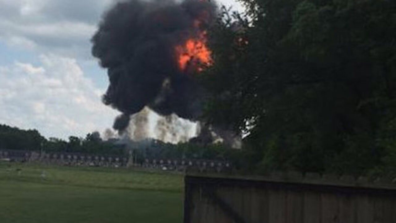 Blue Angels jet crashes in Tennessee
