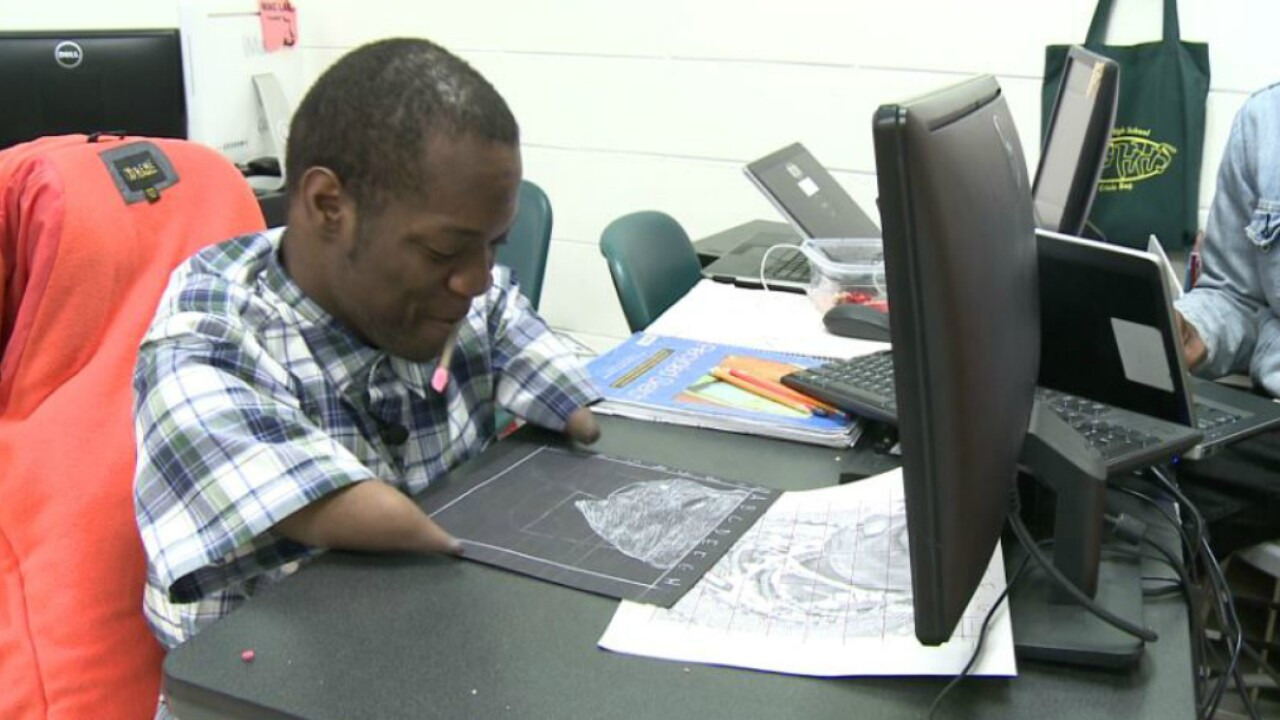 Henrico student defies the odds, inspires others with hisart