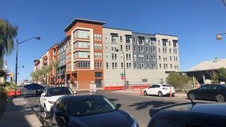 PHOTOS: Luxury apartment building Fremont9 opens in downtown Las Vegas