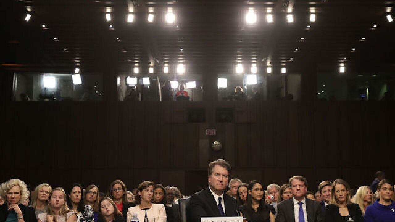How Democrats coordinated a tense start to Kavanaugh hearing