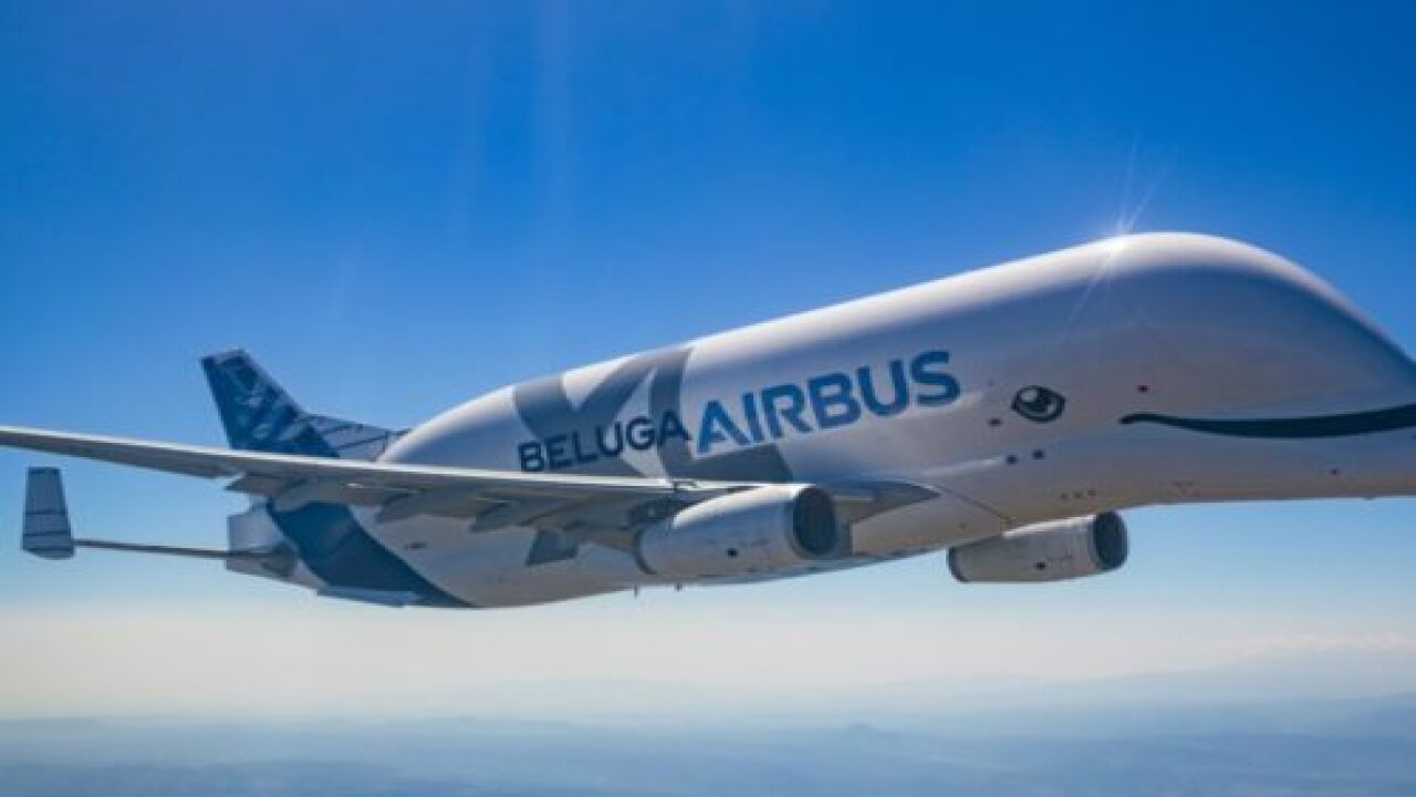 This New Plane Looks Just Like A Cute Beluga Whale