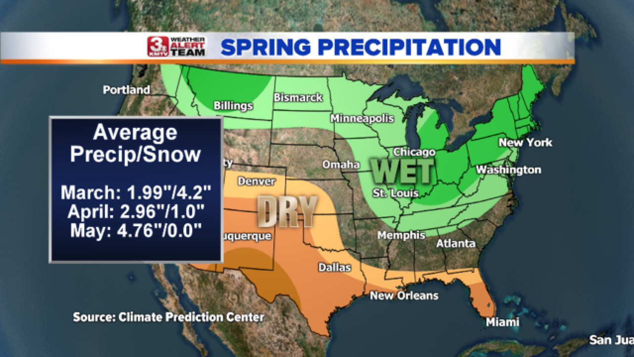 90-Day Spring Outlook