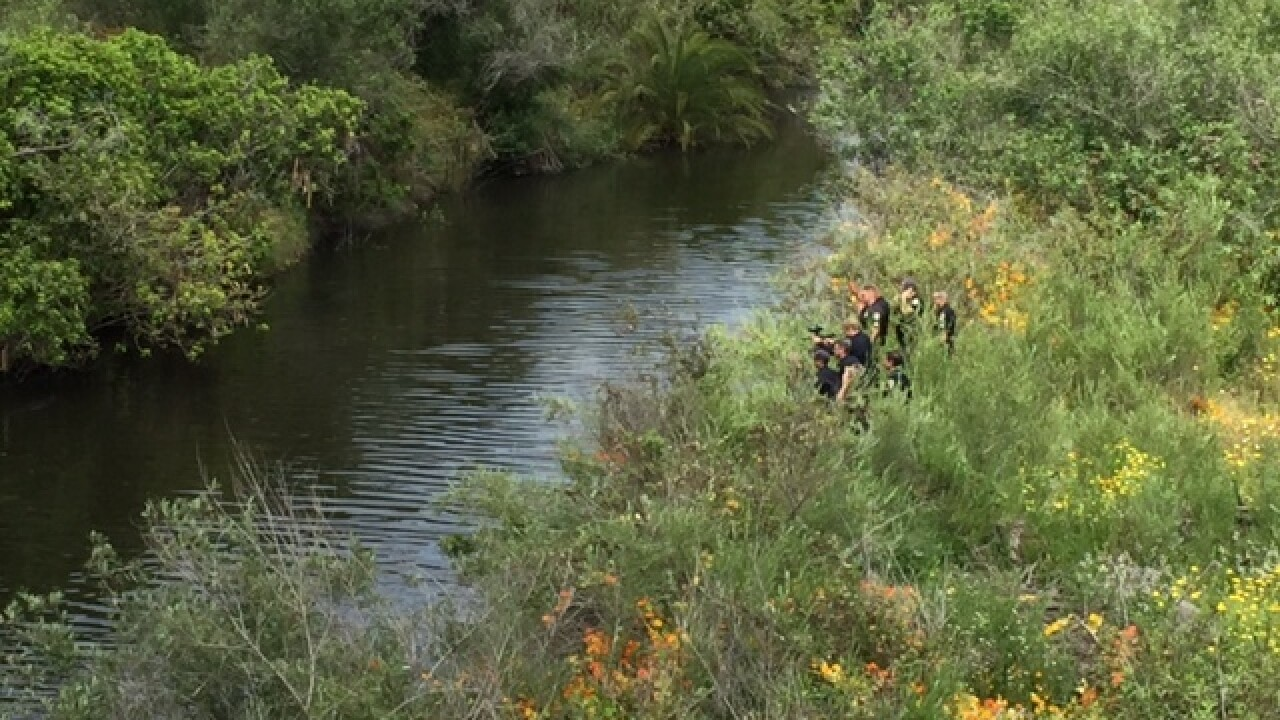 SDPD in standoff with man in San Diego River