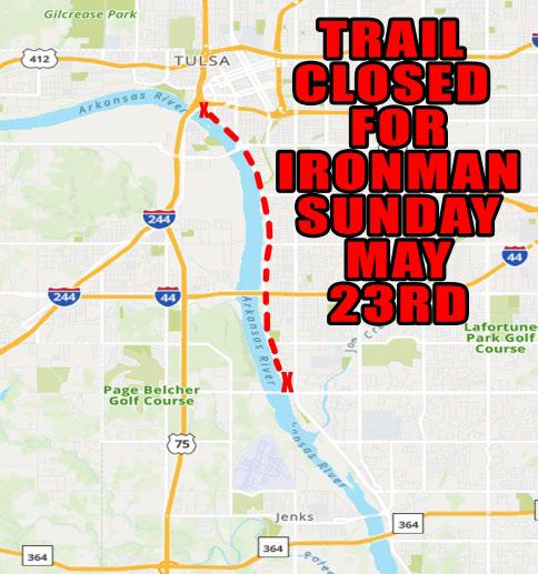 Ironman closes trails