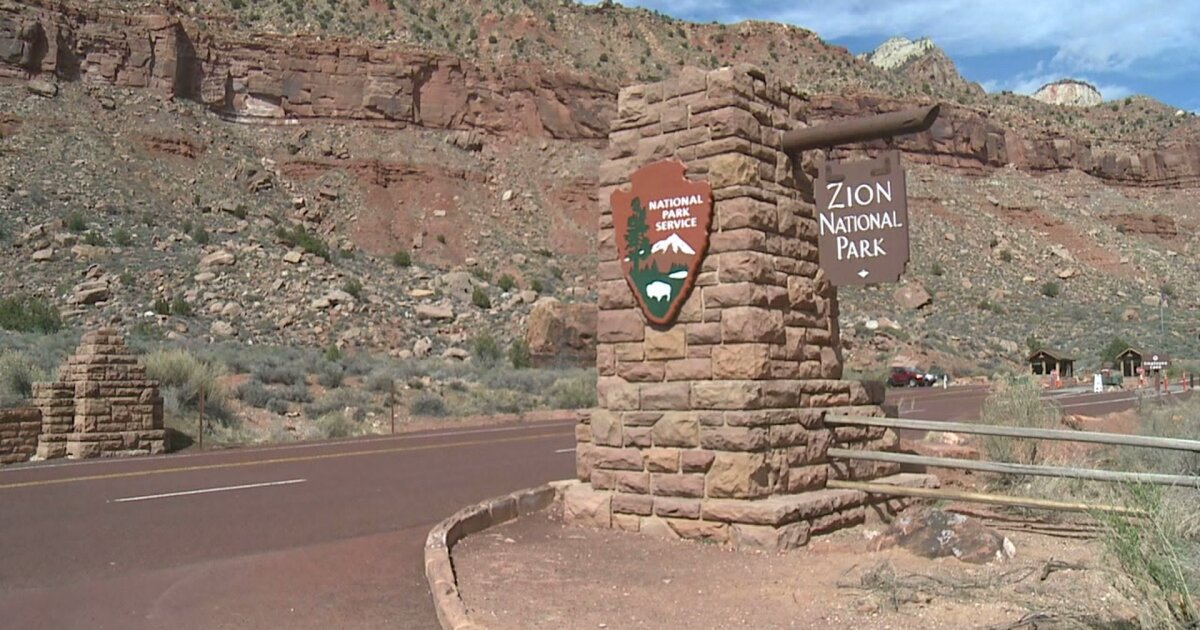 Harmful algal bloom kills dog at Zion National Park