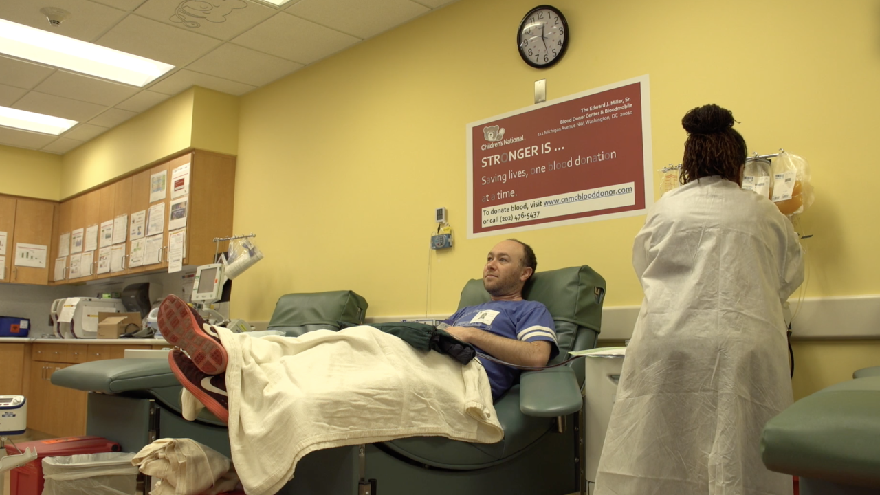 Nation's blood banks struggle in wake of coronavirus pandemic