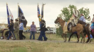 Crow Fair draws tribes from across America