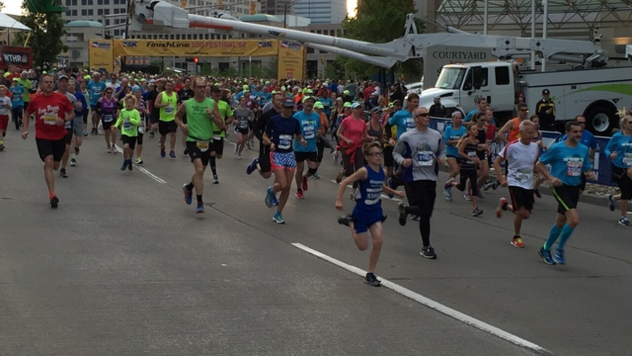 PHOTOS: Indy 500 Mini Marathon