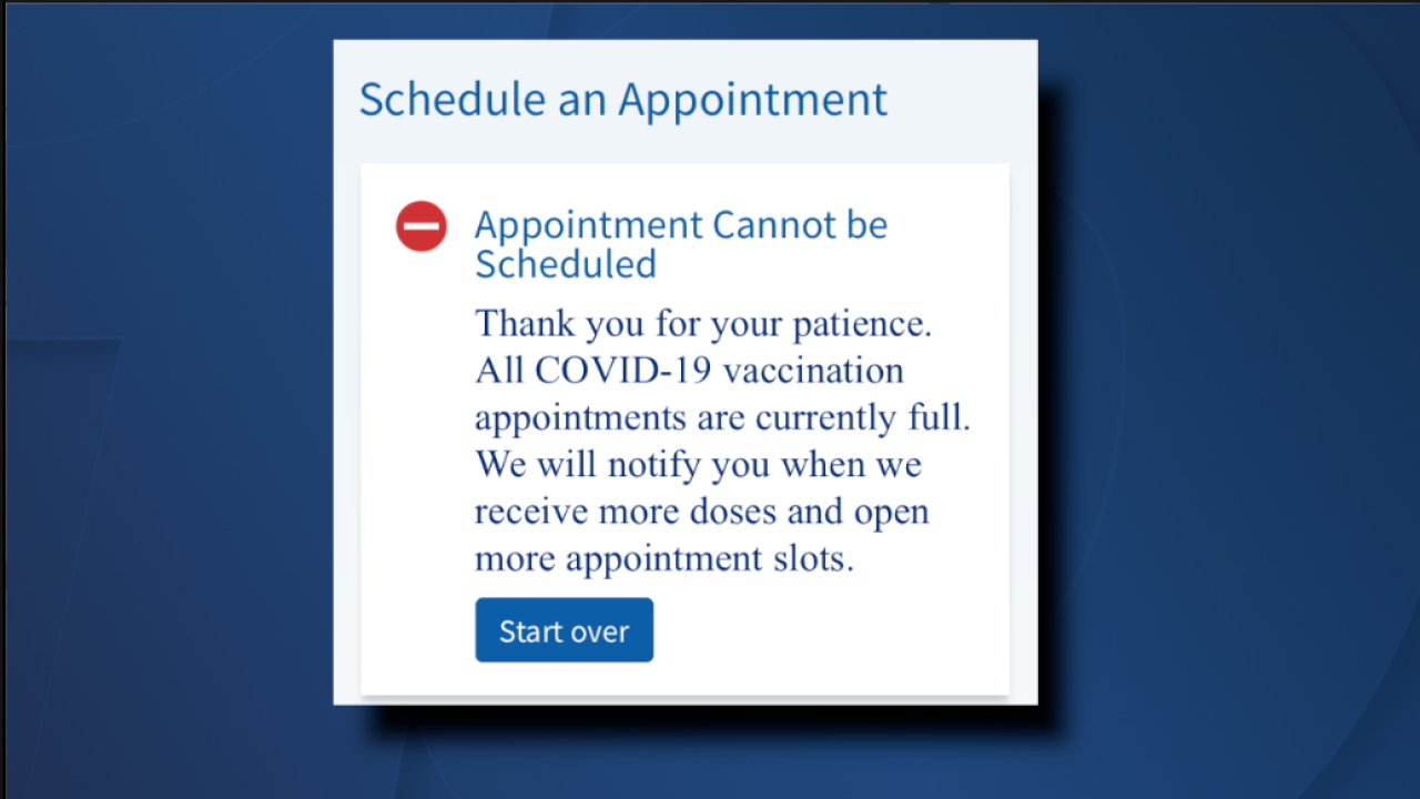 Scripps patients unable to sign up for COVID-19 vaccine appointment.png