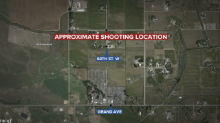 One person injured in shooting west of Billings