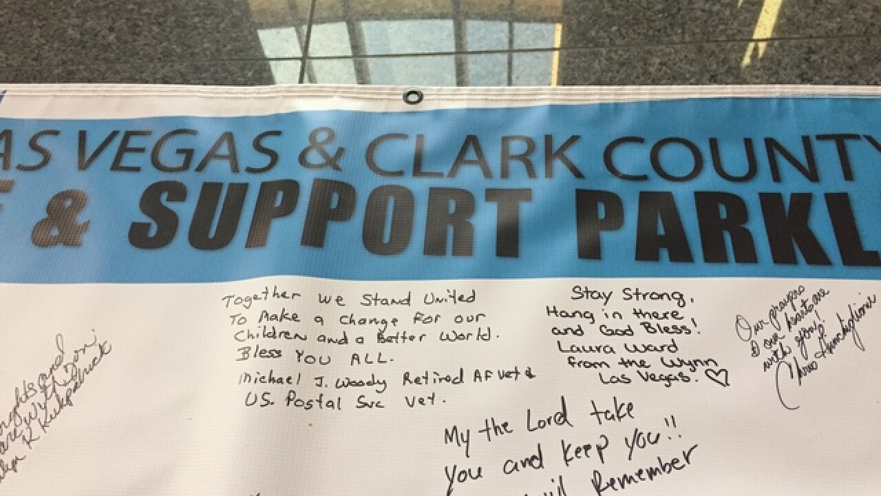 Locals invited to sign banner for Fla. victims