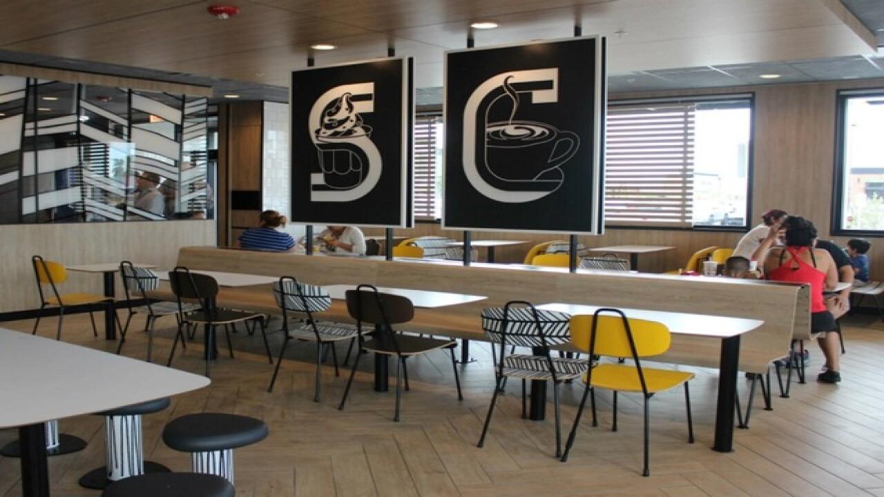 Mcdonald S Debuts Redesigned Restaurant Self Ordering