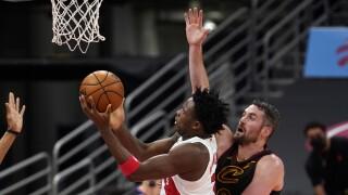 Cavaliers Raptors Basketball